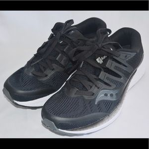 Saucony Black Ride Iso Size 8.5 Running Shoes